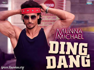 DING DANG SONG: A latest song from the movie Munna Michael starring Tiger Shroff and Nidhhi Aggarwal.  Captioned song is sung by Amit Mishra and Antara Mitra and composed by Javed Moshin while lyrics is penned by Sabbir Khan.