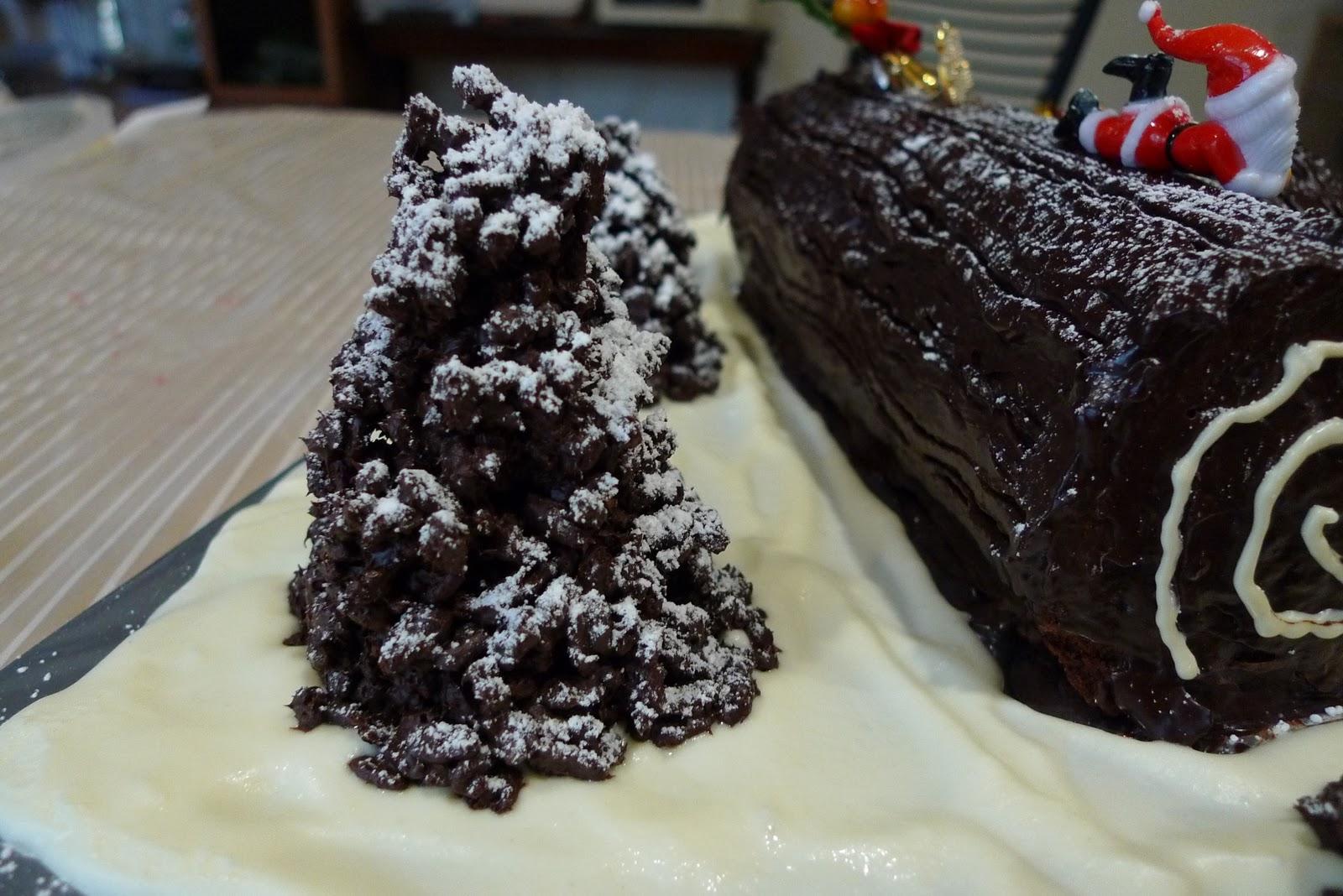 Log Cake Recipe Joy Of Baking: Christmas Log Cakes