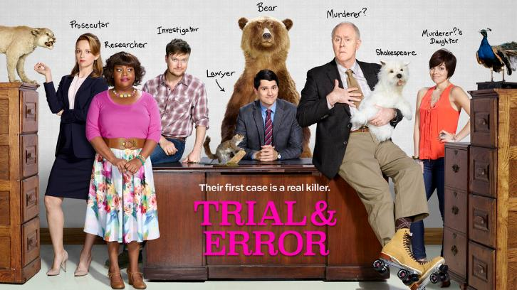 Trial & Error - Promos, Cast Promotional Photos & Key Art *Updated 12th March 2017*