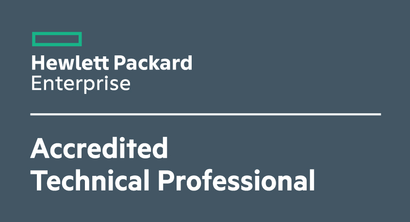 HP Accredited Technical Professional