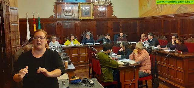 Los Llanos de Aridane retransmite sus sesiones plenarias en lengua de signos española