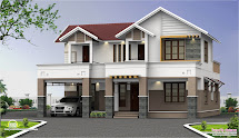 Kerala House Designs Two-Storey Homes