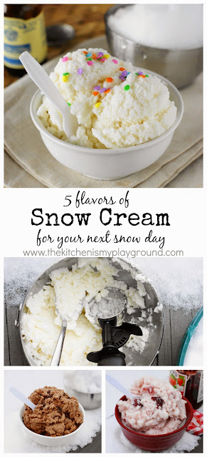 Vanilla Snow Cream