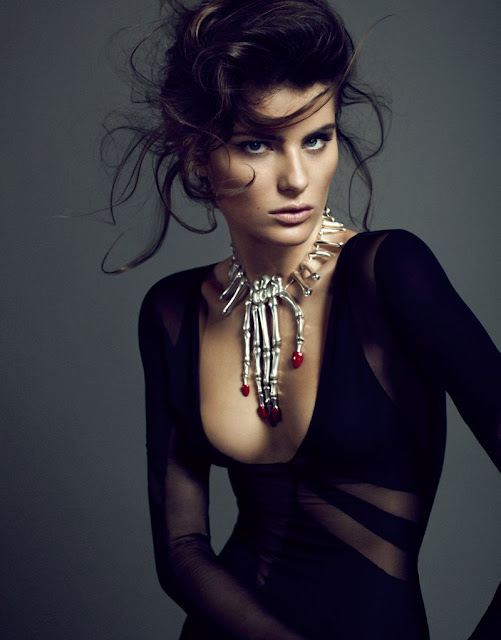 Isabeli Fontana El Pais spain magazine photoshoot