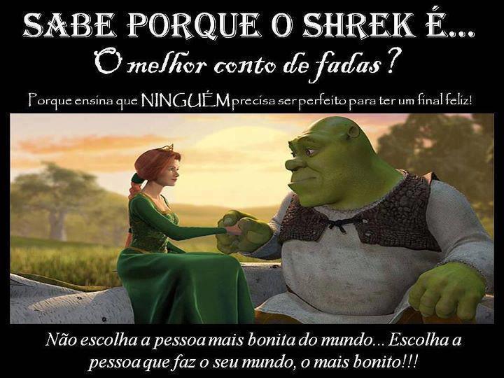 É Melhor Ser Feliz Do Que Ter Razão: Louquinha Por Livros: Porque Shrek é O Melhor Conto De Fadas?