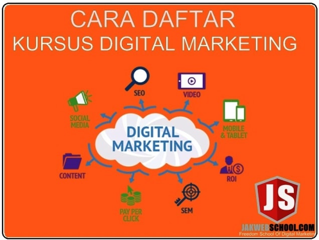 CARA DAFTAR KURSUS DIGITAL MARKETING JAKWEBSCHOOL