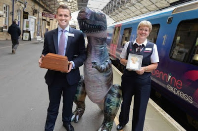 Hundreds of items of lost property are left on UK trains every day, including umbrellas, spectacles, pets and even an inflatable dinosaur