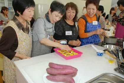 香川県産野菜を使った料理教室開催!坂出金時
