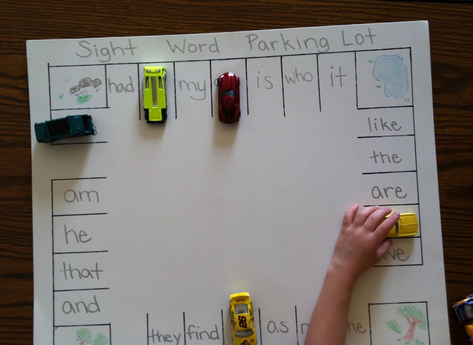 The Kindergarten Corner Fun Sight Word Ideas