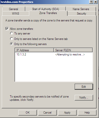 Migrating Windows DNS to Linux BIND | Nathan's Thoughts and