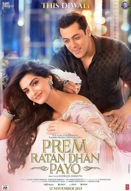 Salman Khan, Sonam Kapoor Prem Ratan Dhan Payo Movie is Biggest 3rd biggest hits of 2015