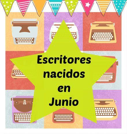 Escritores que nacieron en Junio
