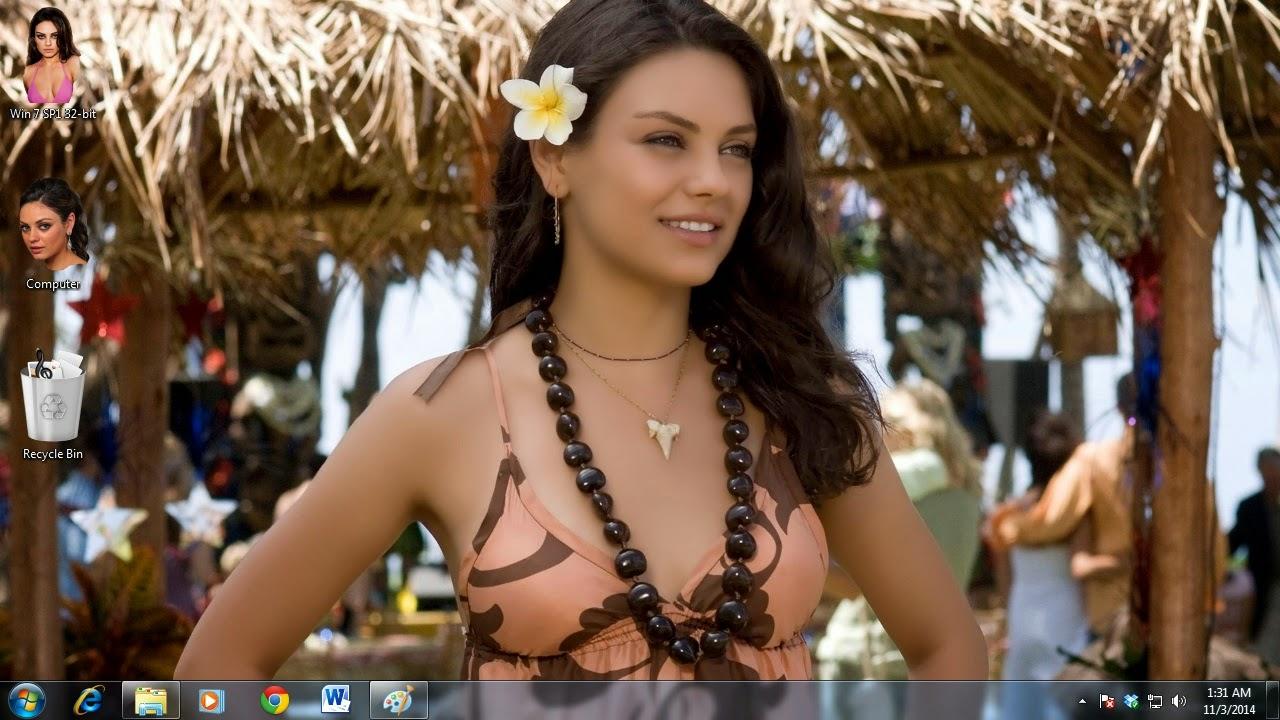 Mila Kunis Tema para Windows PC