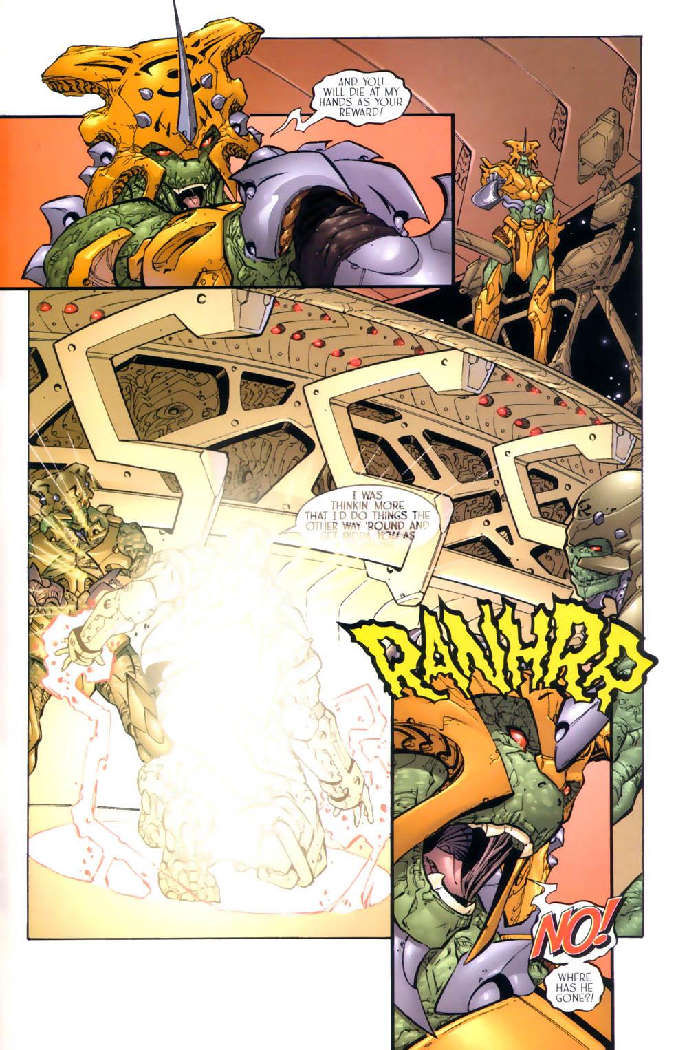 Read online Sigil (2000) comic -  Issue #3 - 22