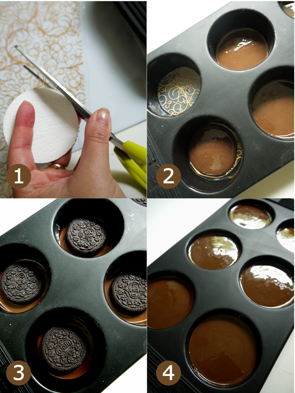 How to Make Chocolate Covered Oreos + FREE Printables - BirdsParty.com