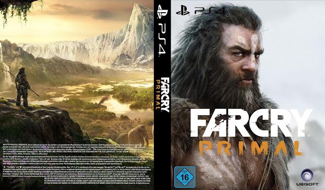 Capa Farcry Primal PS4