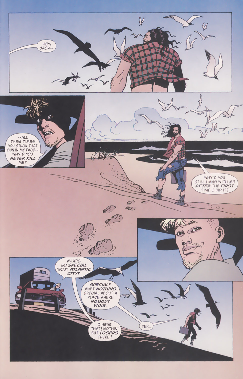 Read online 100 Bullets comic -  Issue #49 - 22