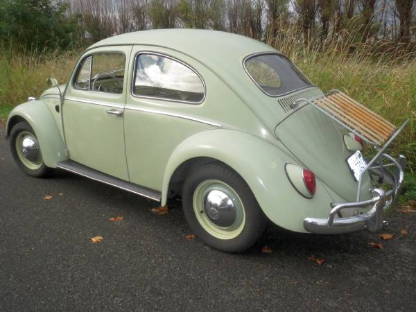 Used Very Original 63 VW Beetle For Sale by Owner