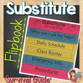 https://www.teacherspayteachers.com/Product/Substitute-Flipbook-Editable--2579695