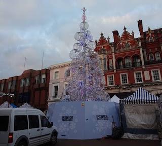 Christmas tree in Ipswich