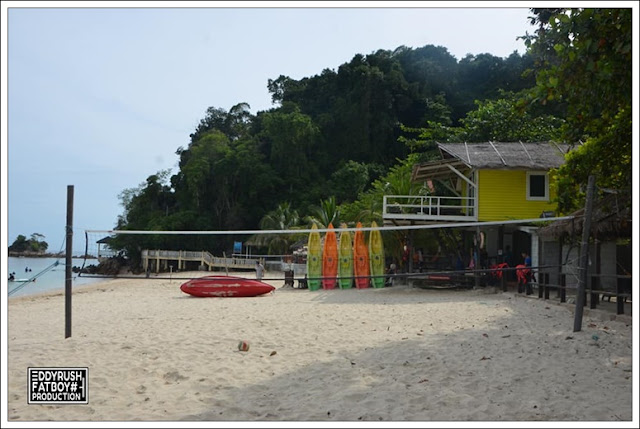 Here Is Ombak Kapas Island Beach Resort