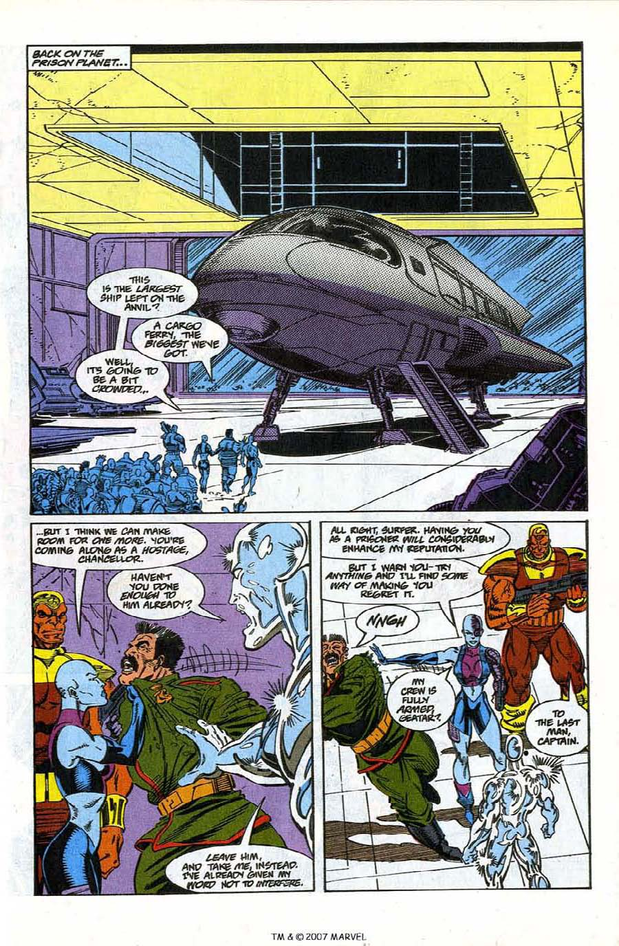 Read online Silver Surfer (1987) comic -  Issue #78 - 15