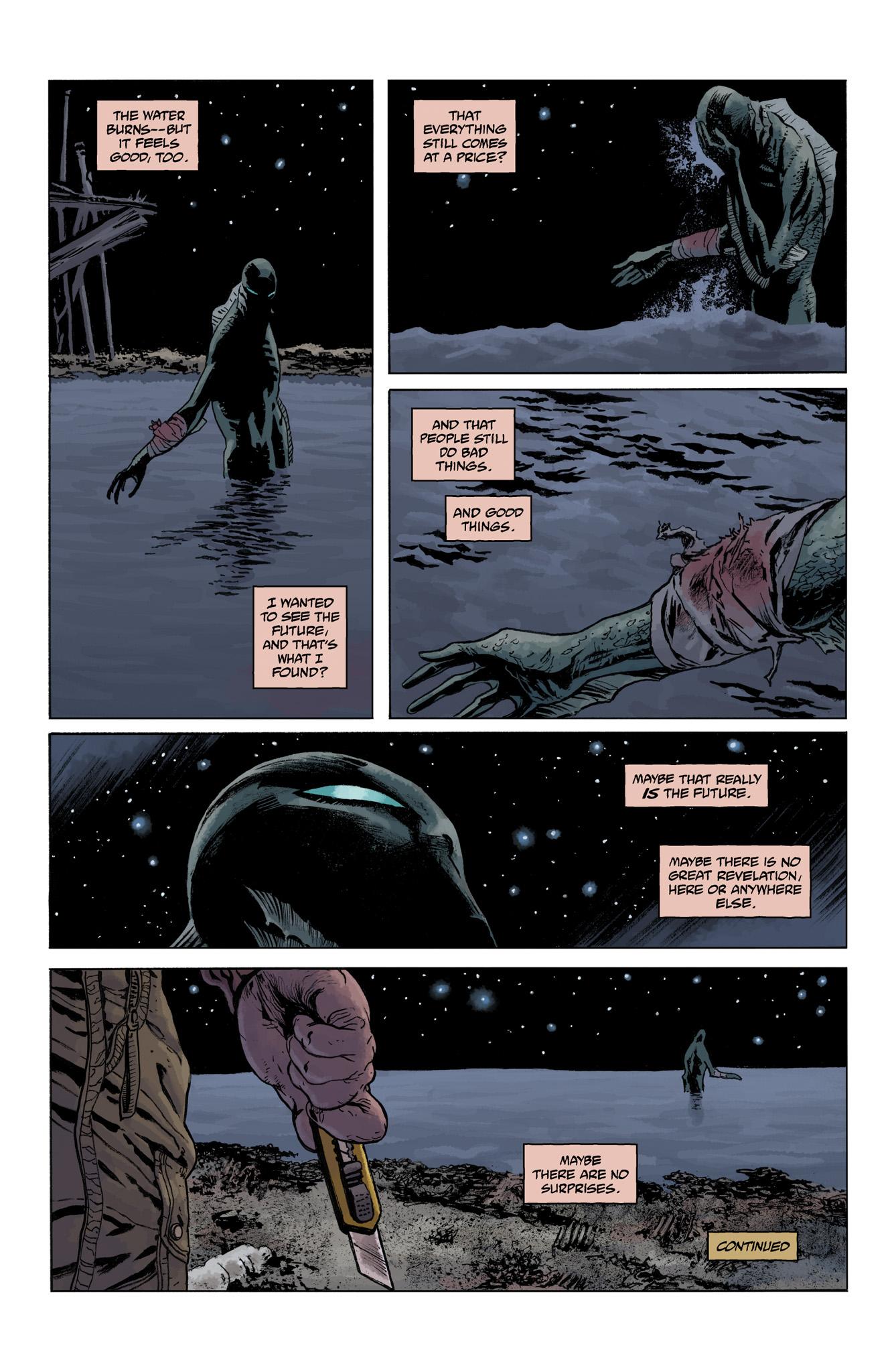 Read online Abe Sapien comic -  Issue #4 - 24