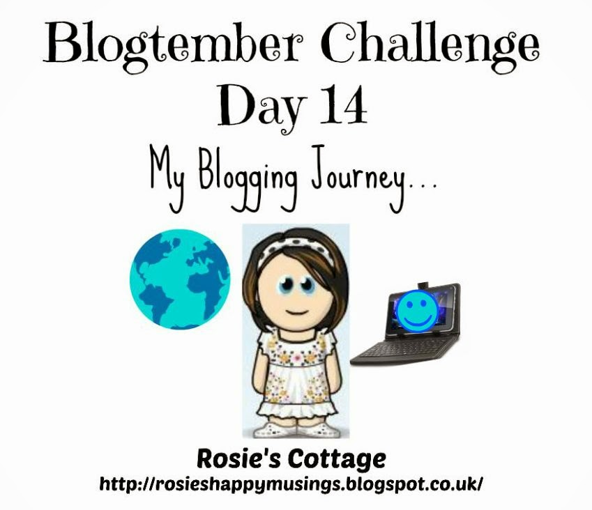 Blogtember Challenge 2014 My Blogging Journey