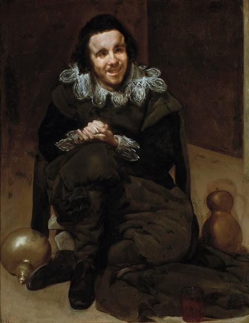 Velázquez, El bufón Calabacillas, 1635-1639