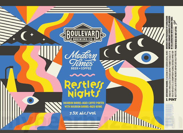 Boulevard & Modern Times Collaborate On Restless Nights Cans