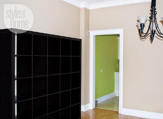 Antes e Depois na decoração do apartamento em tons neutros. Blog Achados de Decoração