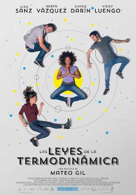 Las Leyes De La Termodinámica 2018 DVD R2 PAL Spanish