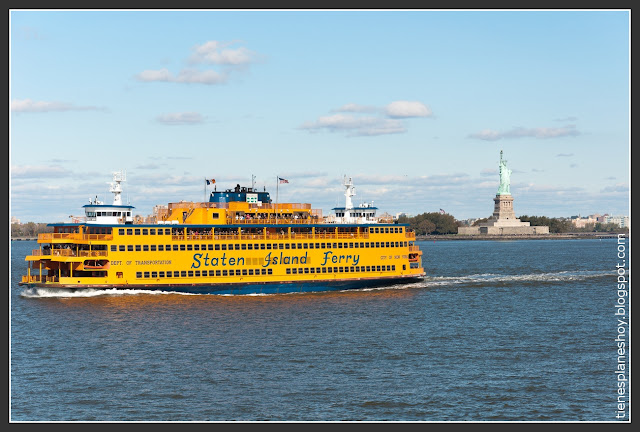 Estatua Libertad desde Ferry Staten Island