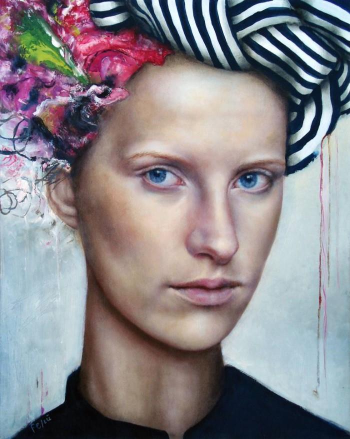 Аргентинский художник. Valeria Feliu