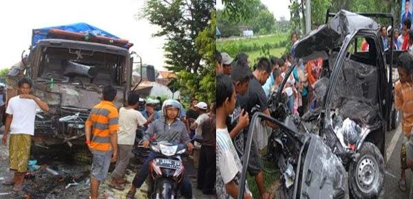 Kecelakaan Maut di Tongas Probolinggo