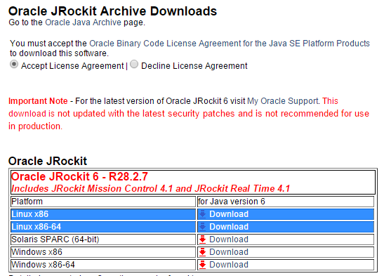 How To Install This App?: How to install JRockit 6 - R28 2 7