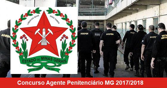 edital SEDS MG Concurso para agentes penitenciários