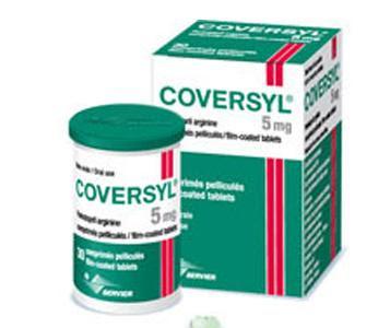 Thuốc huyết áp Coversyl 5 mg của Pháp