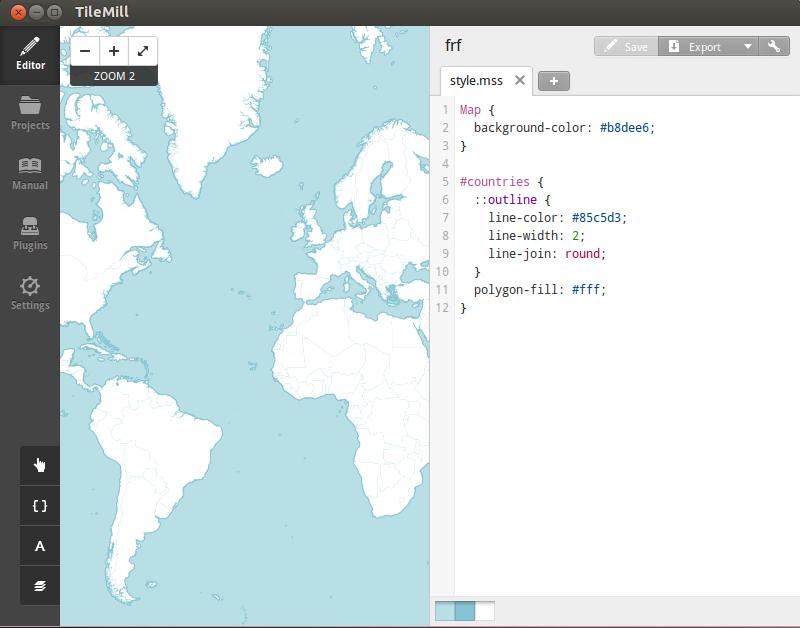 TileMill Map Designer