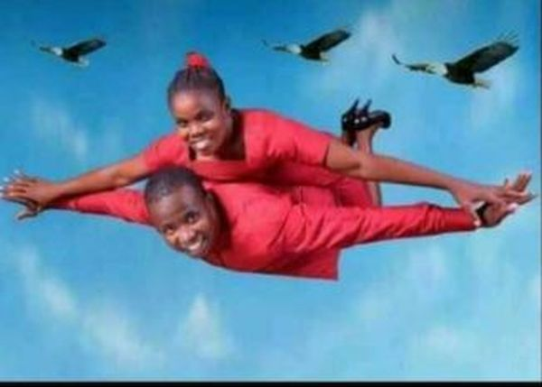 LMAO!! Could This Be The Worst Pre-Wedding Photo In Nigeria So Far? (See Photo)