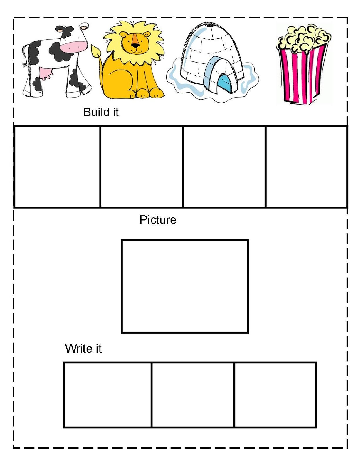 Phonological Awareness Worksheets For Preschool