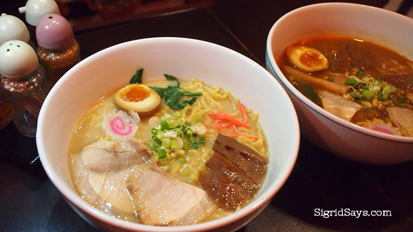 Bacolod ramen restaurant - Izumi Japanese Kitchen - Bacolod restaurants
