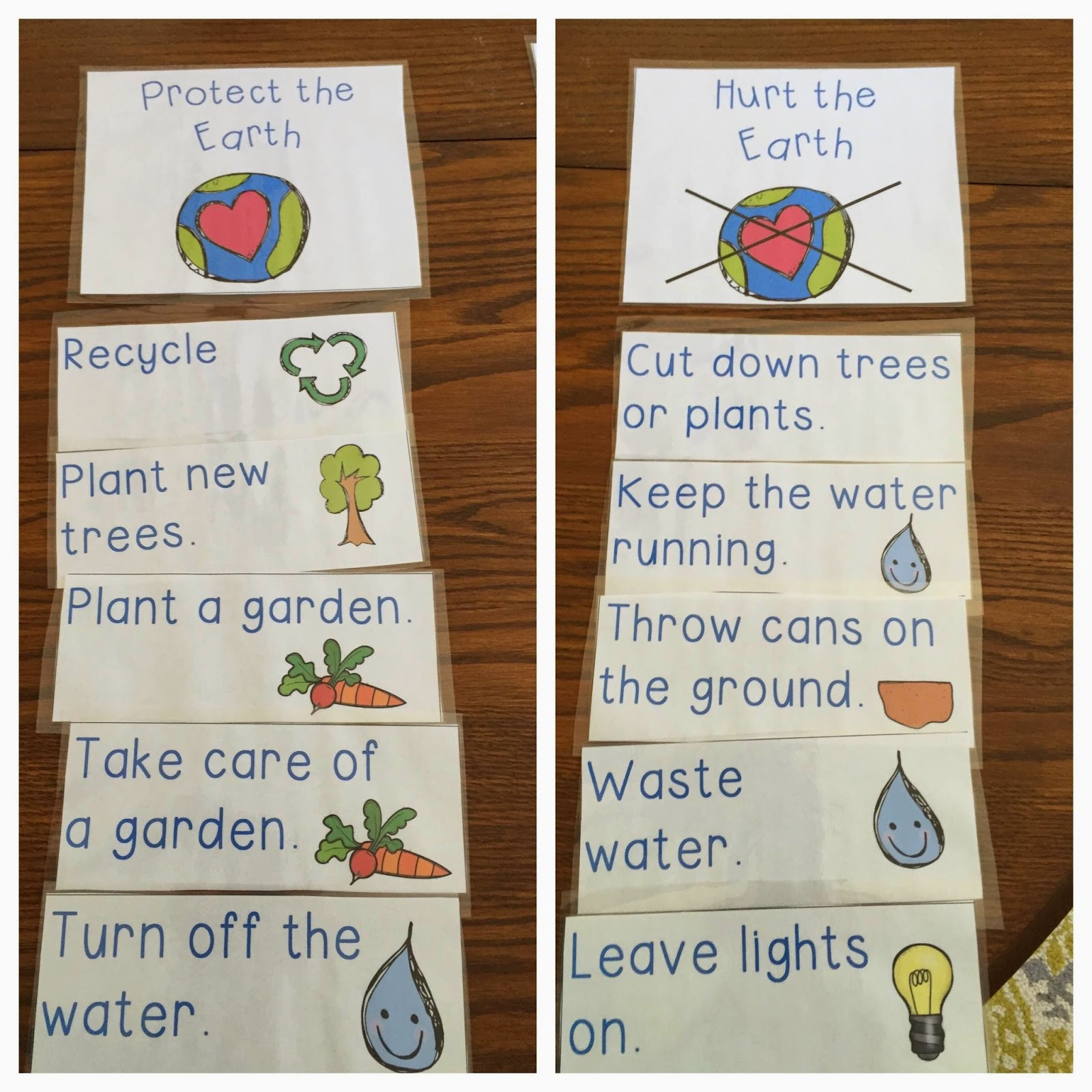 Visual Plans Earth Day