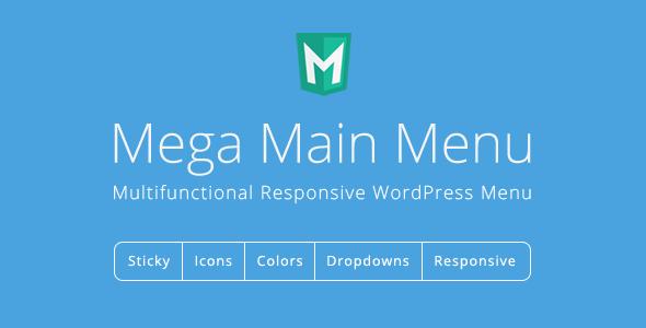 Download Mega Main Menu v2.1.2 – WordPress Menu Plugin