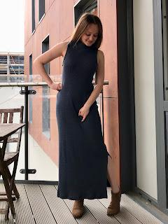 Maxi Ribbed Nikko Dress