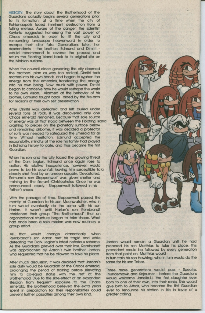 Read online Sonic The Hedgehog comic -  Issue #112 - 22