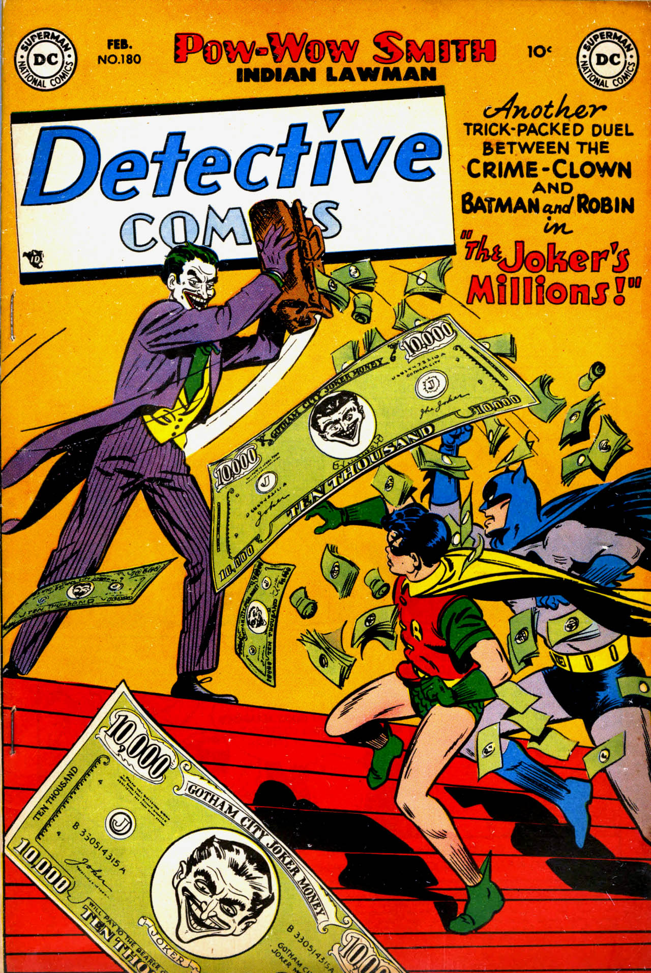 Read online Detective Comics (1937) comic -  Issue #180 - 1
