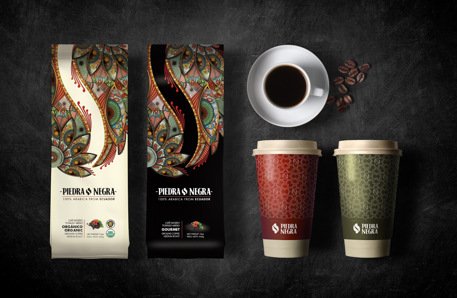 Piedra Negra On Packaging Of The World Creative Package