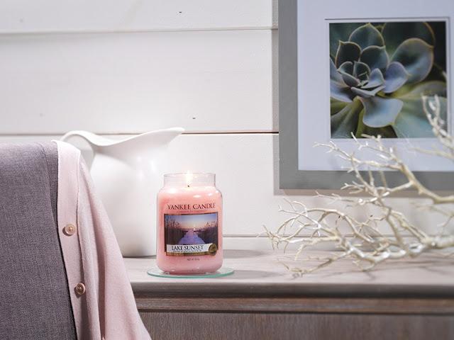 avis Lake Sunset de Yankee Candle, blog bougie, blog beauté, blog parfum