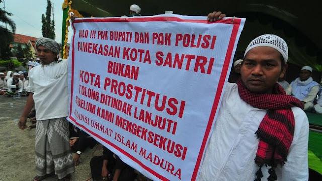Sweeping Salah Sasaran Oleh FPI mendapat Perlawanan Warga Pamekasan Madura